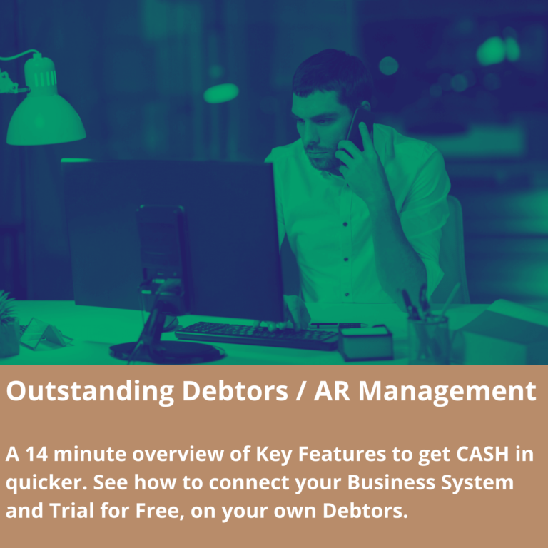 Oustanding Debtors / AR Management Webinar for Forecast.Live