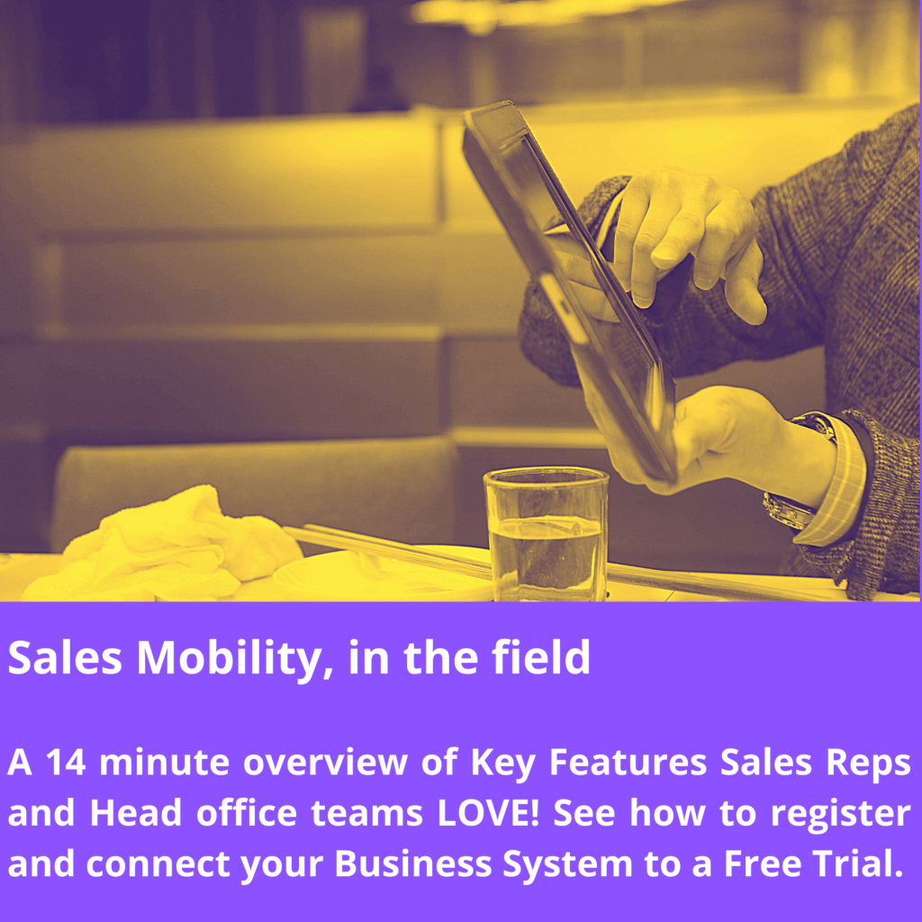 Sales Mobility, in the field Webinar for Sales.Live