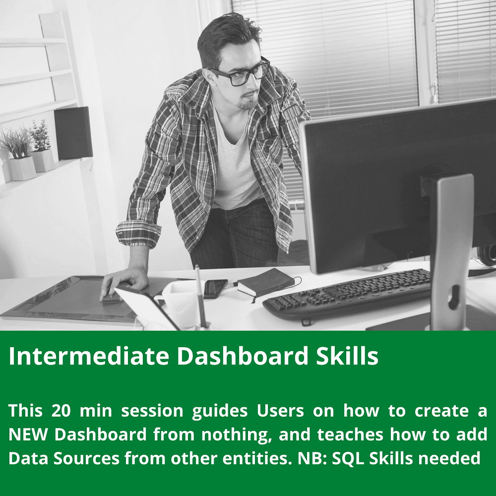 Intermediate Dashboard Skills for Snapshot.Live